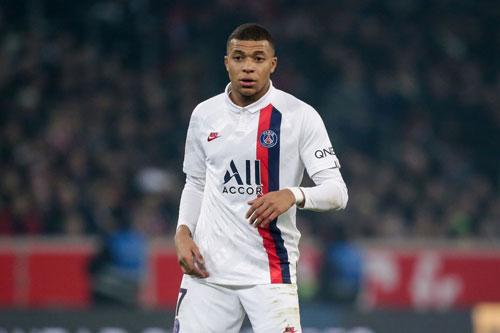 1. Kylian Mbappe (Paris Saint-Germain, 200 triệu euro).