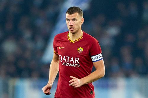 =8. Edin Dzeko (AS Roma, 9 bàn).