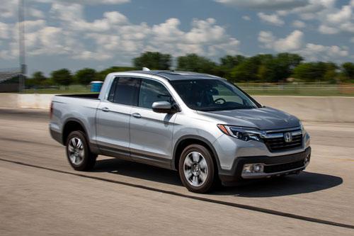 10. Honda Ridgeline 2020 (giá khởi điểm: 33.900 USD).