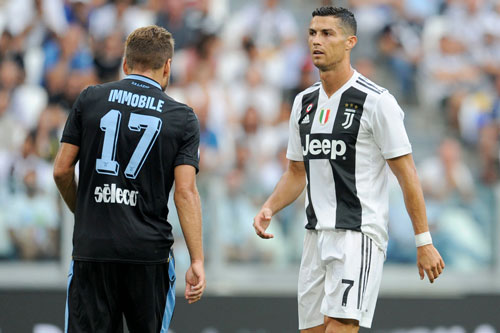 Top 10 chân sút xuất sắc nhất Serie A: Ronaldo thứ 2