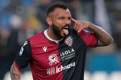 =4. Joao Pedro (Cagliari, 13 bàn).