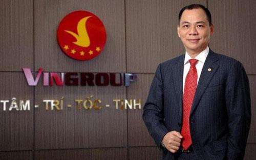 Vợ chồng tỷ phú Phạm Nhật Vượng đang chi phối bao nhiêu % vốn tại Vingroup?