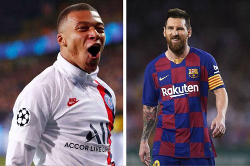 Top 10 tiền đạo đắt giá nhất thế giới: Messi đứng thứ 7