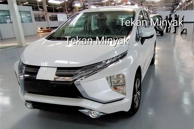 Hình ảnh rò rỉ của Mitsubishi Xpander 2020.