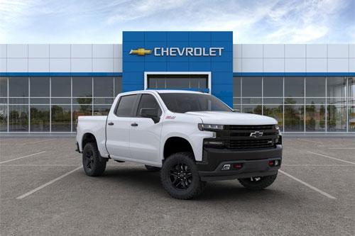 7. Chevrolet Silverado 2020 (giá khởi điểm: 28.300 USD).