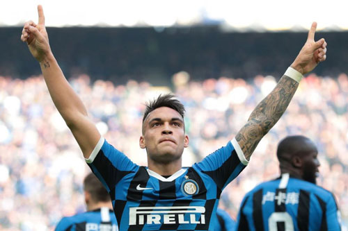7. Lautaro Martinez (Inter Milan, 11 bàn).