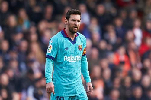 7. Lionel Messi (Barcelona, 140 triệu euro).