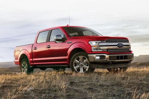 8. Ford F-150 2020 (giá khởi điểm: 28.495 USD).