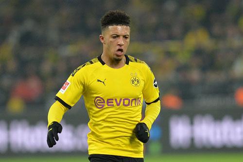 =8. Jadon Sancho (Borussia Dortmund, 120 triệu euro).