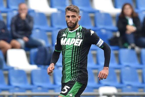 =8. Domenico Berardi (Sassuolo, 9 bàn).