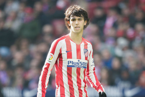 Tiền vệ tấn công: Joao Felix (Atletico Madrid, 20 tuổi, giá trị chuyển nhượng: 100 triệu euro).