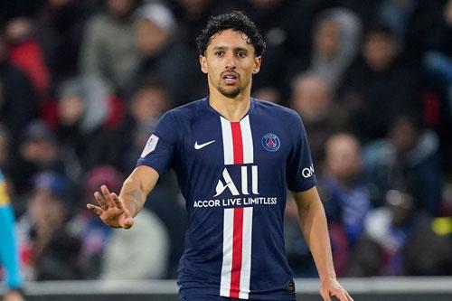 9. Marquinhos (Paris Saint-Germain, 65 triệu euro ).