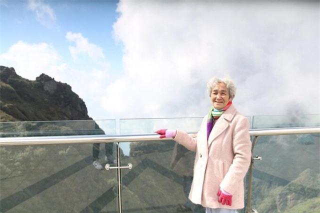 Cụ bà 81 tuổi leo 600 bậc đá, chinh phục Fansipan khiến dân mạng ngưỡng mộ - 5