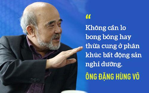 Chuyên gia Đặng Hùng Võ: Đừng say sưa với đất nền, kiếm tiền dễ nhưng hệ luỵ nhiều!