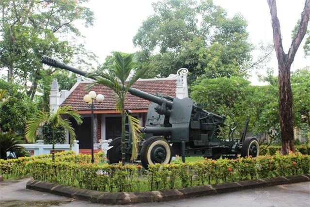 Nòng pháo mà cán bộ, công nhân Nhà máy Dệt Nam Định đã từng bắn hạ vô số máy bay địch