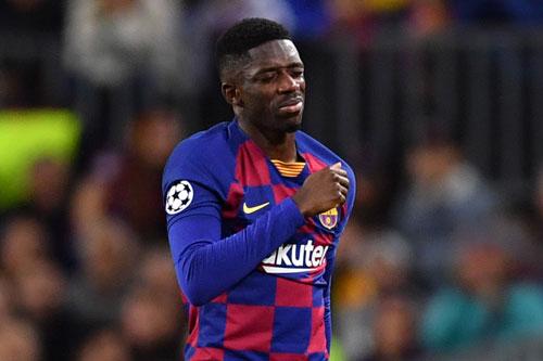 2. Ousmane Dembele (Barcelona, giá trị hiện nay: 75 triệu euro, mức rớt giá: 25 triệu euro).