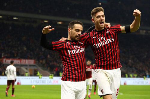 Milan đã có một chiến thắng đầy kịch tính trước Torino