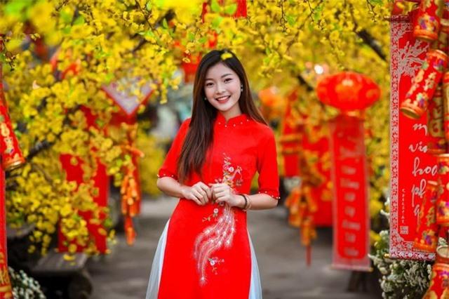 Á khôi Tài sắc Việt Nam rạng ngời chào đón mùa Xuân - 2