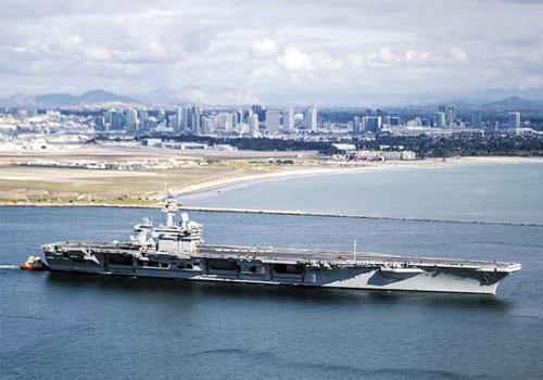 Giới chức Mỹ cho biết việc điều thêm tàu sân bay tới áp sát khu vực bán đảo Triều Tiên được cho là hành động nhằm củng cố thêm sức mạnh trong khu vực nhằm gửi thông điệp mạnh mẽ tới phía nhà cầm quyền Bình Nhưỡng. Nguồn ảnh: USnavy.