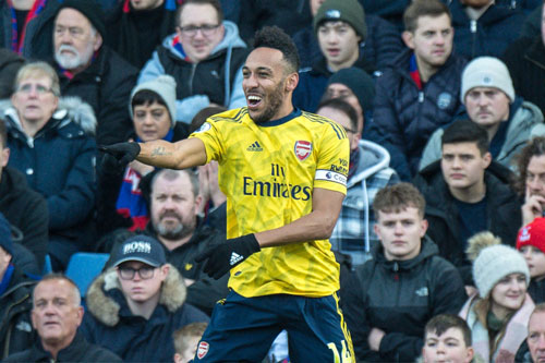 Aubameyang. Ảnh: Getty.