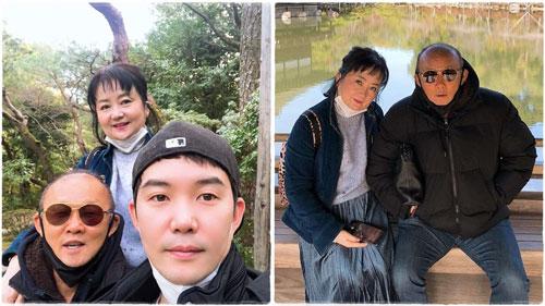 Thầy Park và gia đình vừa trải qua kì nghỉ ngắn tại Kyoto và Osaka (Nhật Bản)