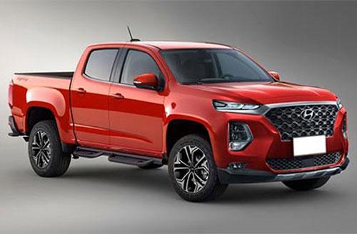 Mẫu xe bán tải mới của Hyundai.