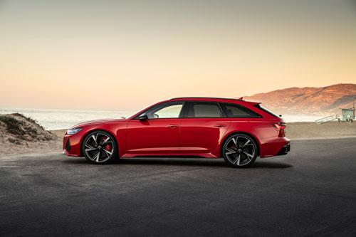 2. Audi RS6 Avant.