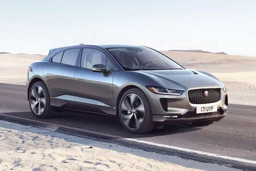 4. Jaguar I-Pace.