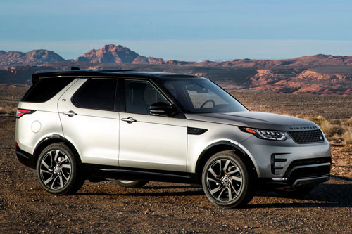 5. Land Rover Discovery.