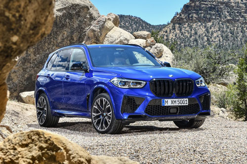 BMW X5 M Competition 2020.