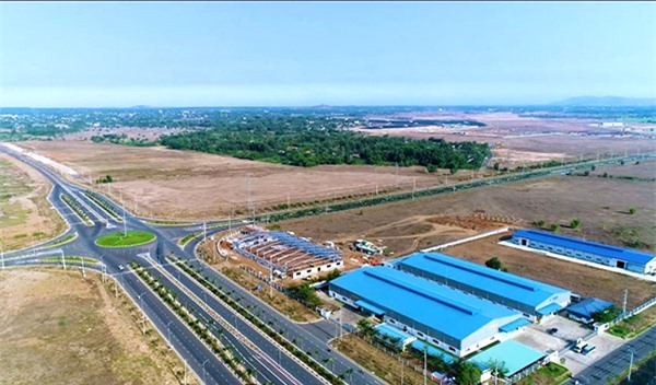 Khu công nghiệp Sonadezi Châu Đức, huyện Châu Đức, tỉnh Bà Rịa - Vũng Tàu (Ảnh do Sonadezi cung cấp)