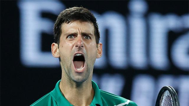 Australia mở rộng 2020: Novak Djokovic lên ngôi lần thứ 8 sau 5 set kịch tính - Ảnh 3.