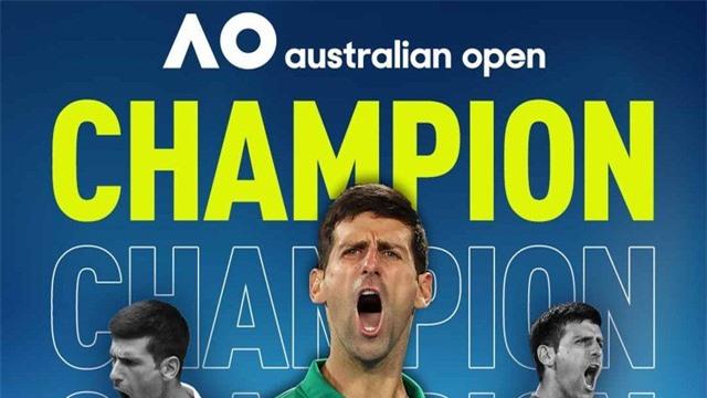 Australia mở rộng 2020: Novak Djokovic lên ngôi lần thứ 8 sau 5 set kịch tính - Ảnh 4.