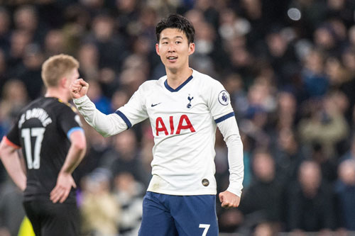 Tiền đạo: Son Heung-min (Tottenham).
