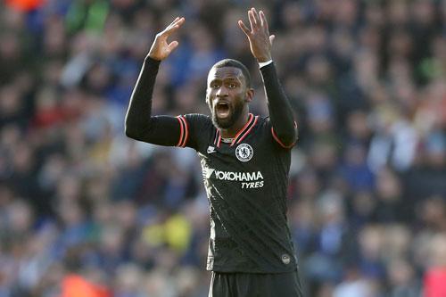Hậu vệ: Antonio Rudiger (Chelsea).