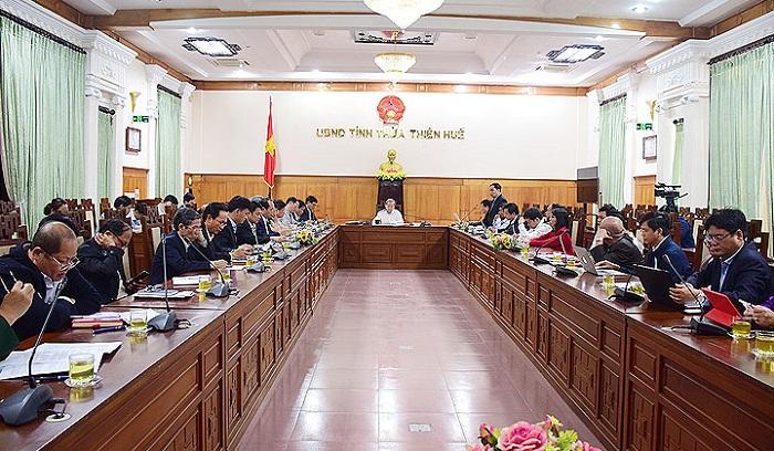 Thừa Thiên Huế họp Ban chỉ đạo tỉnh về phòng chống dịch bệnh viêm đường hô hấp cấp do chủng mới của virus Corona