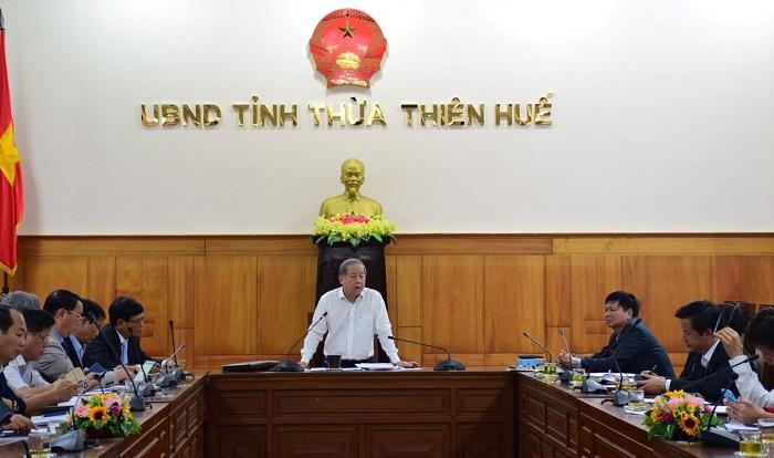 Chủ tịch UBND tỉnh Thừa Thiên Huế chỉ đọa cho học sinh toàn tỉnh nghỉ học