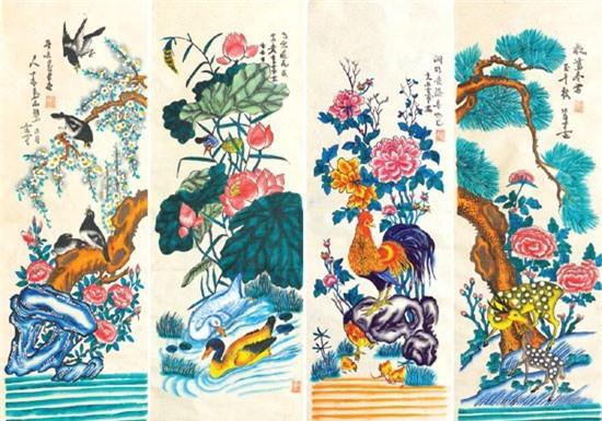 Bi mat nhung buc tranh Tet kinh dien cua pho Hang Trong xua-Hinh-3