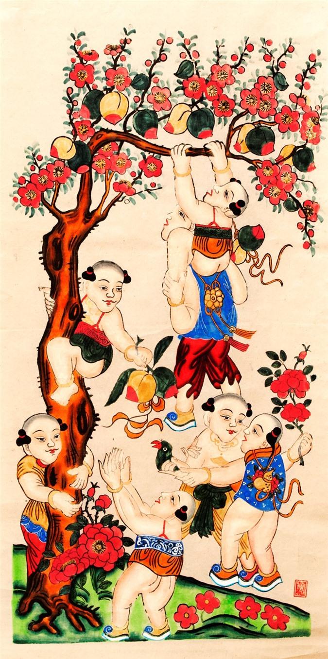 Bi mat nhung buc tranh Tet kinh dien cua pho Hang Trong xua-Hinh-7