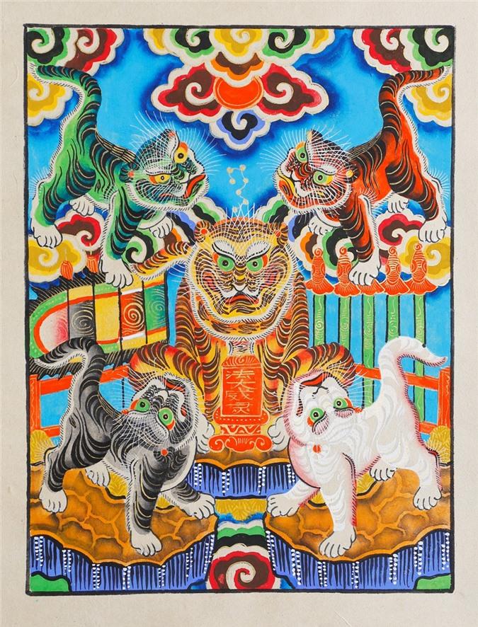 Bi mat nhung buc tranh Tet kinh dien cua pho Hang Trong xua-Hinh-8