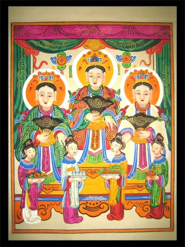 Bi mat nhung buc tranh Tet kinh dien cua pho Hang Trong xua-Hinh-9