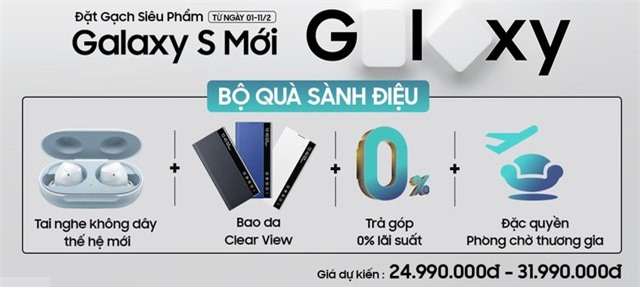Người dùng Việt đã có thể đặt mua trước bom tấn Galaxy S mới của Samsung - Ảnh 2.