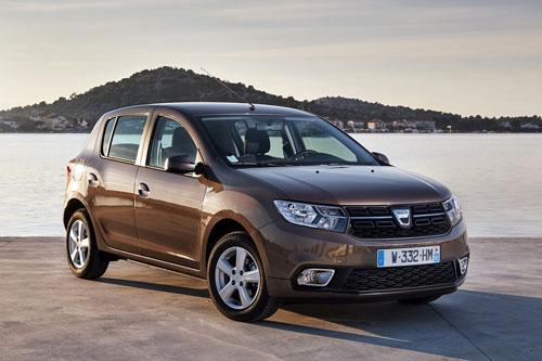 8. Dacia Sandero (doanh số: 233.460 chiếc).