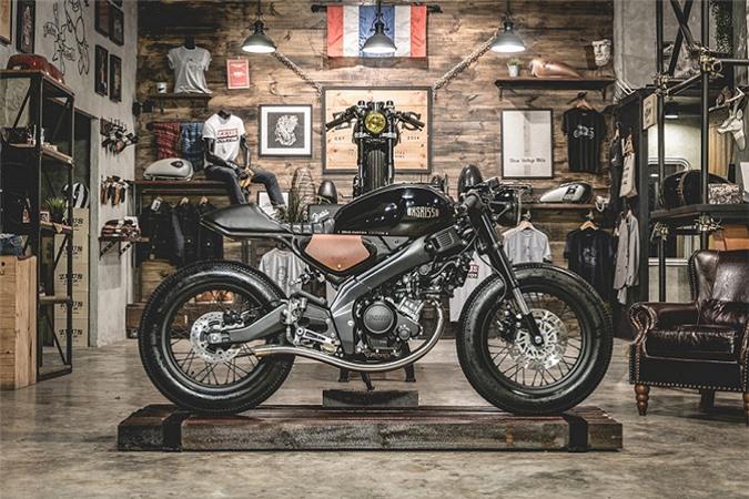 Yamaha XSR 155 độ Cafe Racer.