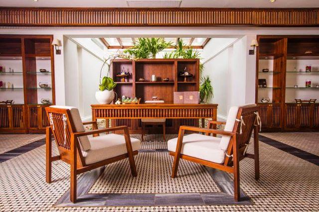 Liệu trình chăm sóc spa mới của The Anam được thiết kế riêng cho từng khách lấy cảm hứng từ học thuyết ngũ hành Kim, Mộc, Thủy, Hỏa, Thổ.