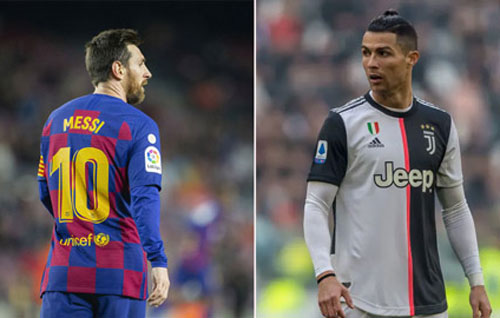 Messi và Ronaldo.