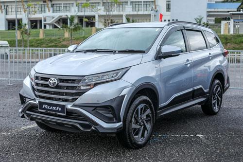 4. Toyota Rush (doanh số: 51.569 chiếc).