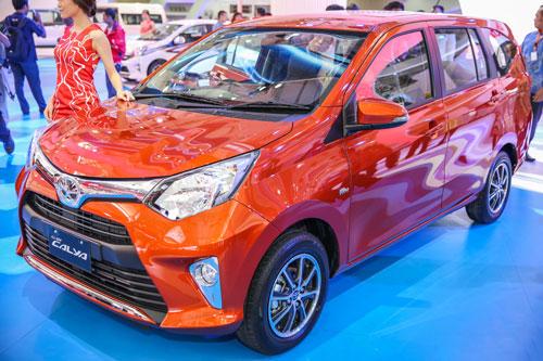 5. Toyota Calya (doanh số: 54.549 chiếc).
