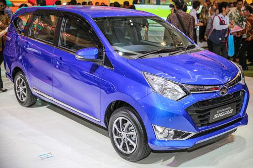 8. Daihatsu Sigra (doanh số: 52.283 chiếc).