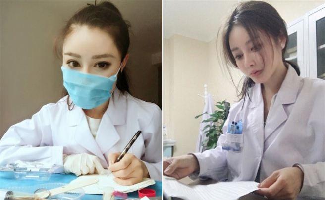 Yuan Herong - nữ bác sĩ Trung Quốc đang gây chú ý trên mạng xã hội.